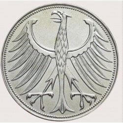 5 Deutsche Mark Silver Coin 1970s